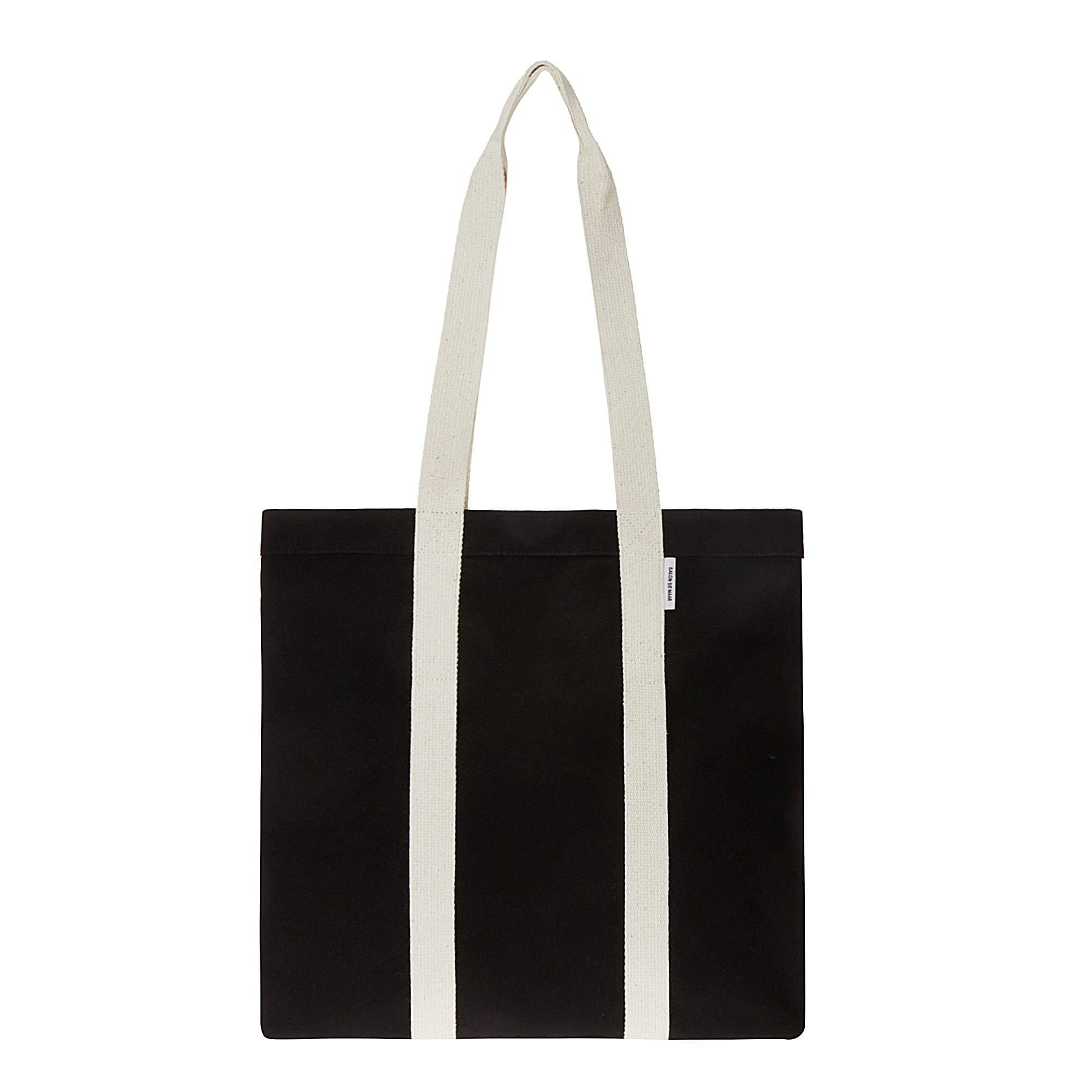 CARRY BAG BLACK & BEIGE